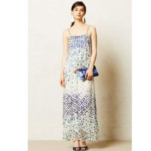 Anthropologie Cynthia Vincent Cavia Maxi dress